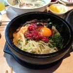 HAN JONG - 料理写真:石焼ユッケビビンバ
