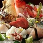 山陰旬華 新鮮組  - お造り地魚盛り。豪快に盛り込みます!