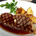 山のレストラン - Aコース(ミニッツステーキセット) ミニッツステーキ