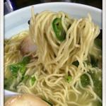 まる玉 - 生からしらーめん+味玉 780+100円 2014.5