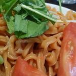 27553678 - トマトとほうれん草のつけ麺