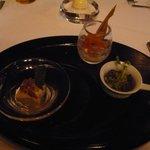 レストラン マノワ - 三種のアミューズ(2014.5)