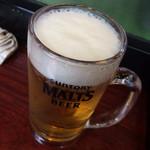 七津屋 - 生ビール ¥290