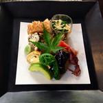 食楽懐石 風土庵 - 料理写真:風香る季節の前菜(*´v`*)