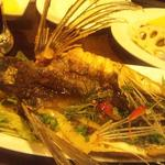 ナチュラ - こんな飛び魚の丸揚げでございます♪