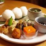 やさい暦 暁 - 料理写真: お膳のセット(子ども用)