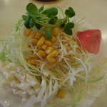 サンマロー -  ボリュームのある和風ドレシングのサラダ