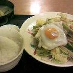 2756503 - 肉野菜炒め定食