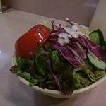 タンドゥール -  野菜サラダ