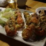 夜の魚屋さん -  シャクの天ぷら