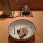 鮨 あい澤 - 煮アワビ
