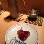 鮨 あい澤 - 春鰹