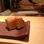 鮨 あい澤 - 厚焼き玉子