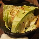 和牛・焼肉・食べ放題 肉屋の台所 - 塩キャベツ
