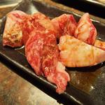 和牛焼肉食べ放題 肉屋の台所 - 特選和牛中落ちカルビ