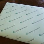 名古屋大学 北部購買 -  2014.05 包装紙も大学オリジナル♪