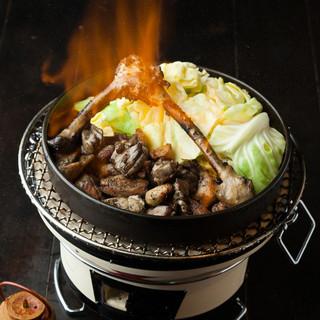 各部位に合った調理法や焼き方で村越シャモロックをご提供♪