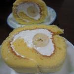 オカイ -  2013.01.03 バナナのロールケーキ