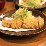 とん太 -  特ヒレかつ定食 (2014/05)
