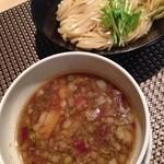 セアブラノ神 - 地鶏醤油つけ麺 並