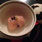 懐石料理 花壇 - 快気祝のお赤飯