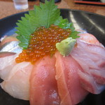 魚や たけ庄 -   2012.08.29  たけ庄丼