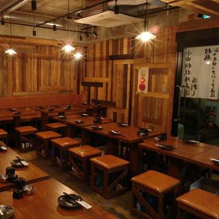 【新宿駅チカ】少人数~大人数まで宴会可/貸切りも承ります!