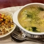 デリカップ -  カニ雑炊(モーニング)
