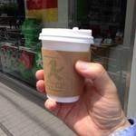 アンペルマン ショップ トウキョウ -  ブレンドコーヒーSサイズ250円