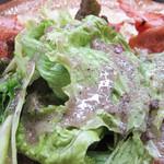 LeBRETON -  箸休め的グリーンサラダもさっぱりして良いですね。