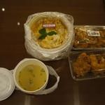 鶏三和 -  親子丼も頂きました。