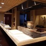 喰善 あべ - オープンキッチン