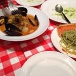 27572013 -  スープがうまい 魚介ペスカトーレ