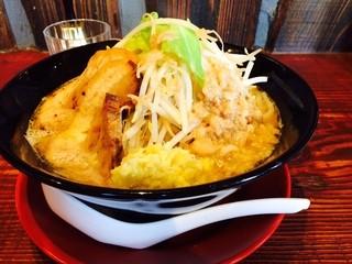 ジパング軒 宇都宮駒生店 -  ジパング麺630円