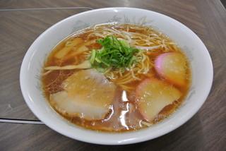 ふけた食堂 - ふけた食堂・ラーメン¥450(2014.03)