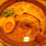 味噌乃家 -  味噌ラーメン680円+味玉100円