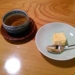 酒蔵 縁 -  デザート&御茶