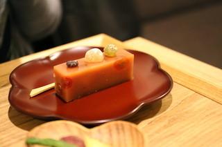麻布野菜菓子 -  トマトの羊羹(イートイン限定)