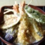 浜田屋食堂 - 料理写真:特製天丼 1050円