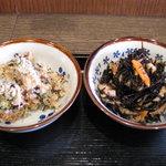 奈良うどん ふく徳 - 定食のおかず2品