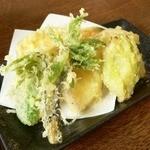 富蔵家 - 三色セットの天ぷら