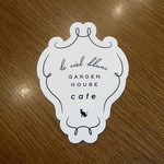 ガーデンハウスカフェ - 白い空と言うカフェが・・