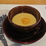 東荘 - 雲丹茶碗蒸し