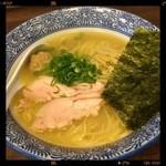 和伊まる -  鶏白湯そば 750円 2014.05.28