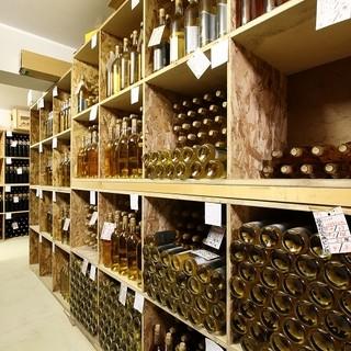 北海道で数少ないワイナリー併設レストランでオリジナルワインを