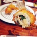 串屋 -  キス、えのき、しそのあっさりとした味