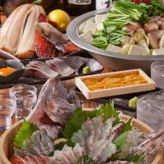 新鮮な魚介を食べるなら迷わず【魚嵐土】