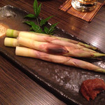 27589989 - 姫タケノコの炙り
