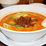 中国家庭料理 龍盛 - 坦々麺 辛味は抑え気味でとてもGOODでした!