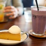 つむぐカフェ -  ランチのデザート